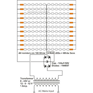 LED Tube Light Circuit