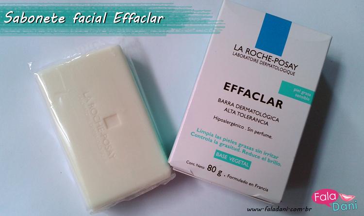 Sabonete dermatológico Effaclar da La Roche-Posay