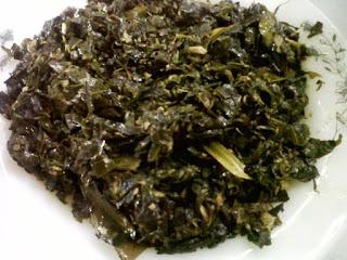 Resep cara memasak sayur Leilem khas Manado