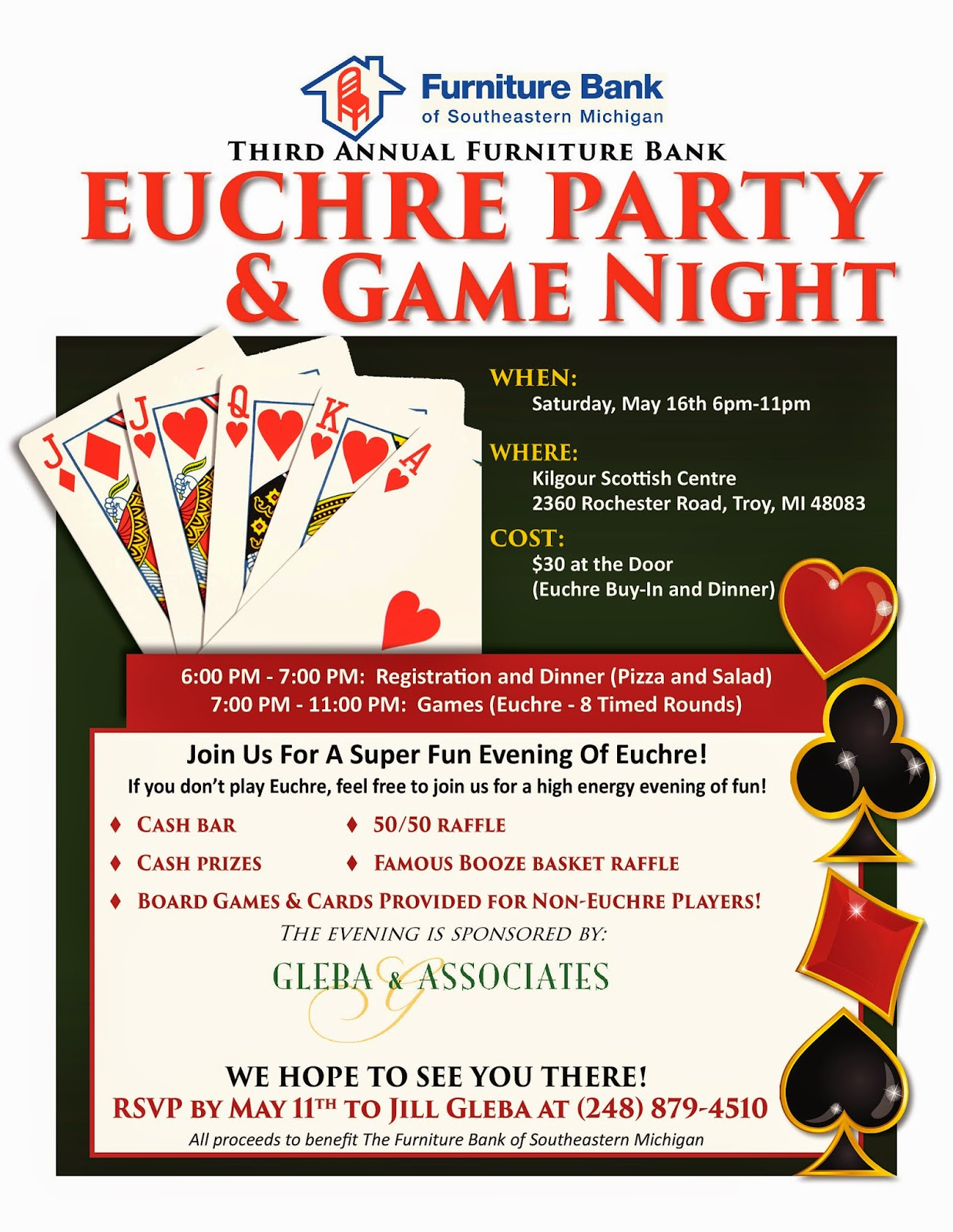 Euchre Fundraiser Michigan
