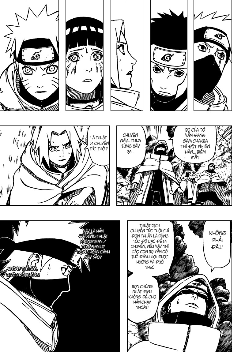 Naruto chap 395 Trang 9 - Mangak.info