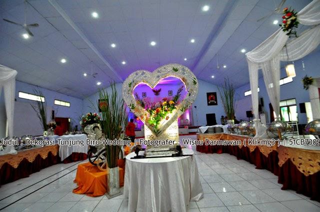 Judul : Dekorasi Tunjung Biru Wedding | Fotografer : Wisnu Darmawan ( Klikmg3 ) Fotografer Purwokerto
