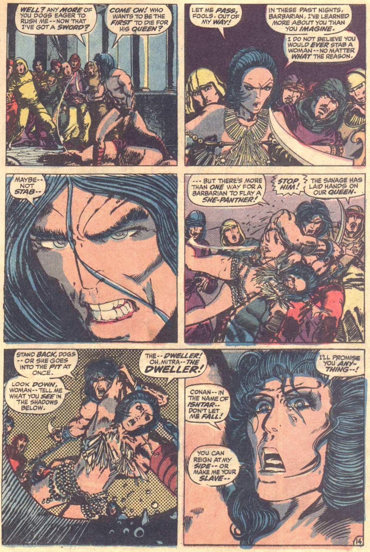 Conan the Barbarian (1970) Issue #12 #24 - English 15