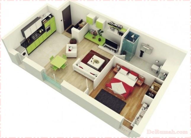 Itulah beberapa contoh desain rumah dalam versi 3D yang dapat kami bagikan untuk anda semua. Jangan lupa periksa juga Desain interior rumah minimalis yang ... & Contoh Desain Rumah Minimalis Versi 3D | Rumah Idaman