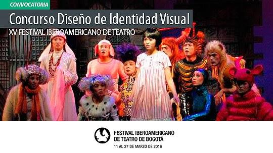 Diseña la Imagen del Festival de Teatro de Bogotá 2016