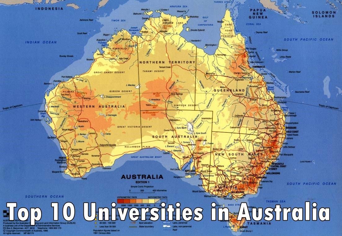 Top 10 Universities in Australia to Study « Top Ten Lists | Best Lists