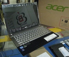 jual laptop gaming 2nd acer v3 471