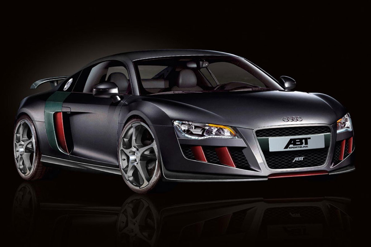 2013 audi r8 by abt sportline cars. Black Bedroom Furniture Sets. Home Design Ideas