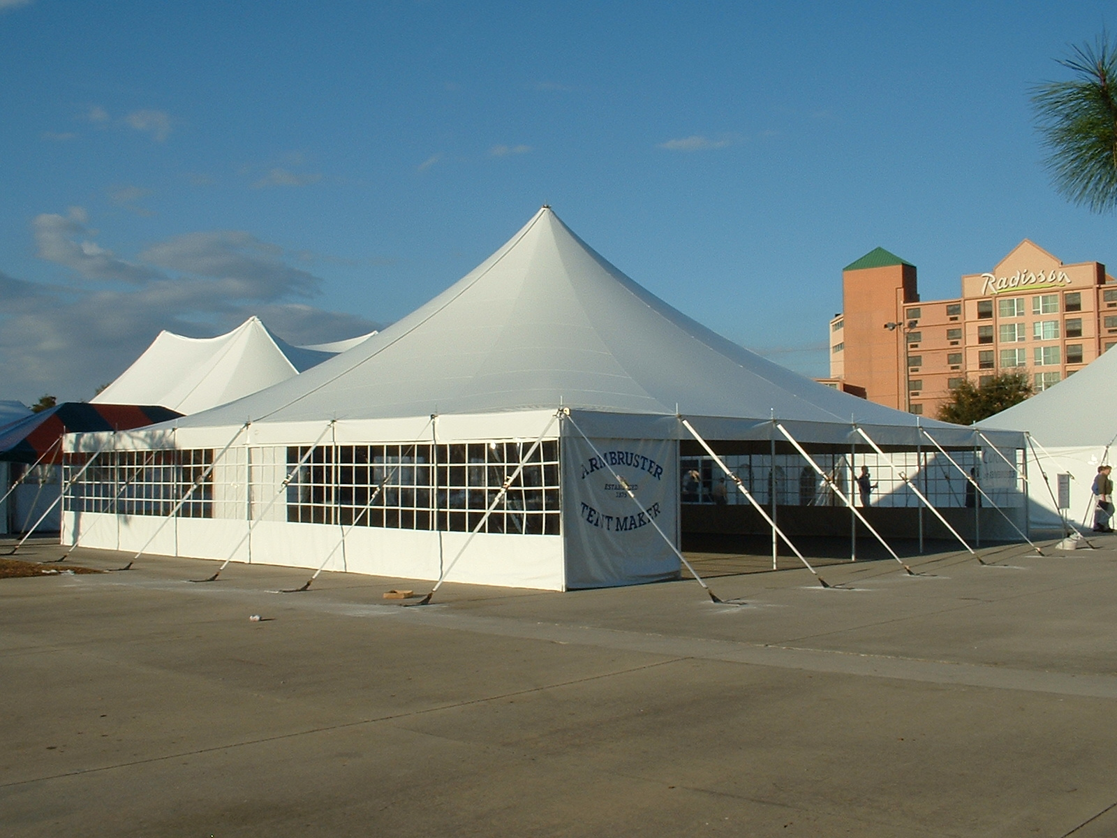 Contact us today for a quote on any of our select line of tents with our most current specials. Many sizes in stock. Armbruster offers the highest quality ... & WINTER SPECIALS on Party Tents! | Armbruster Tent Maker