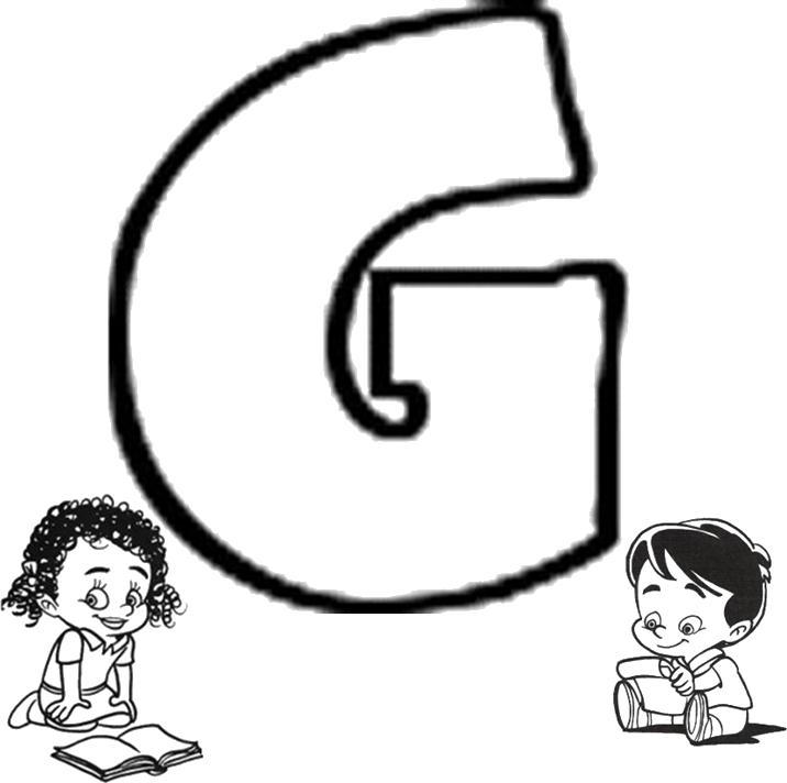 Atividades com a letra G