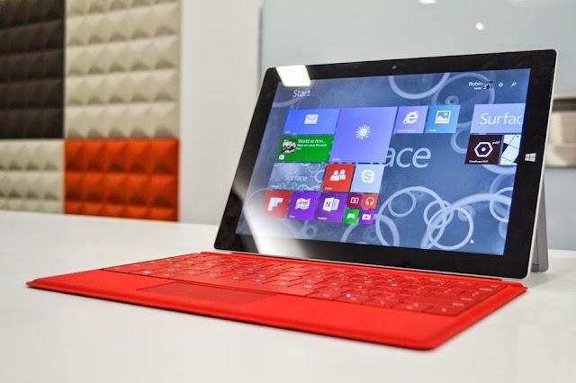 Microsoft Surface 3 mula dijual di Malaysia bermula 9 Mei 2015