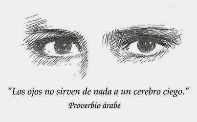 Os olhos...