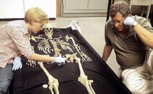 Kennewick Man's Skeleton