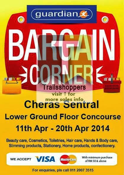 Guardian Pharmacy Bargain Corner Sale Malaysia Kuala Lumpur Selangor