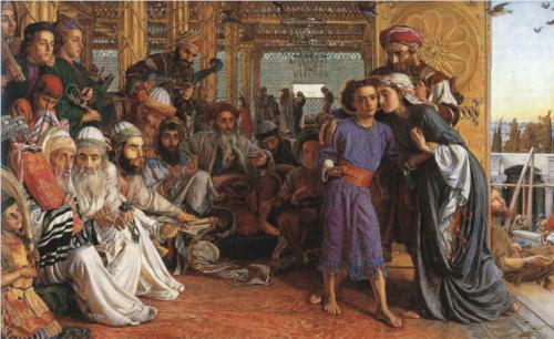 Michel blogue/Le Pardon, la  Charité et l'Amour de Dieu /réflexion d'avant,pendant et d'après carême/ The-finding-of-the-saviour-in-the-temple-1862.jpg!Blog