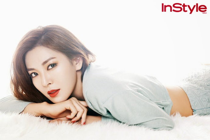 Kim So Yeon - InStyle Magazine April Issue 2014