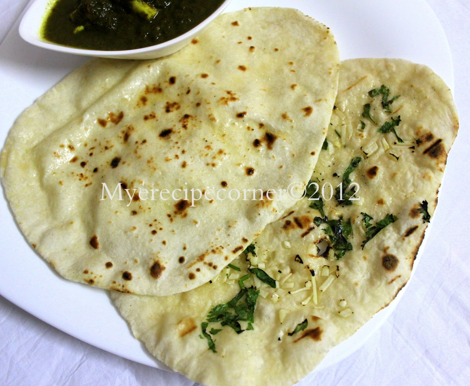 ... Naan Recipe Without Oven ( How to make butter Naan stove top method