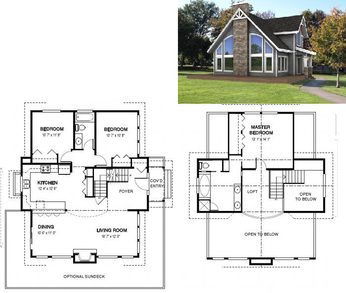 Dise os de casas planos gratis plano casa con amplios for Planos arquitectonicos de casas gratis
