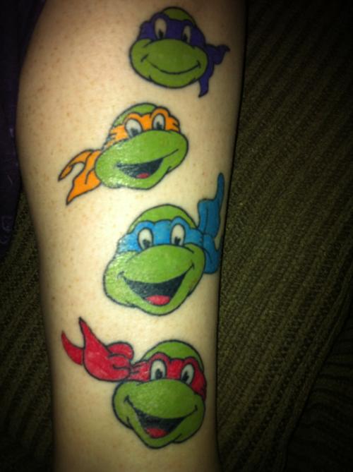 Tatto turtle tattoo designs for Ninja turtles tattoo