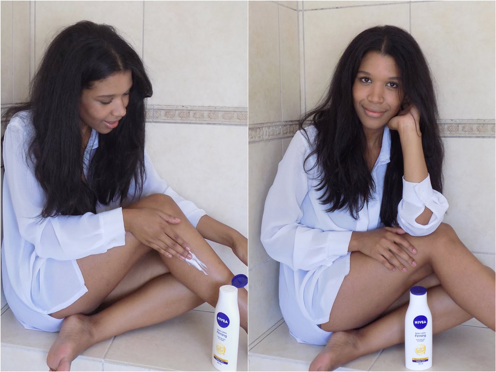 Nivea firming body lotion review, normadic, nicole norman