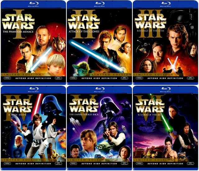 Star Wars Episode 1-6