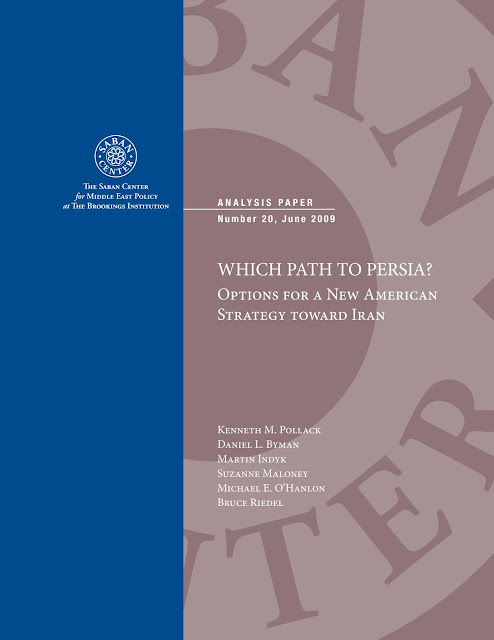 Syrian Conflict: The Price of Defying the West BrookingsWhichPathtoPersia2010Cover