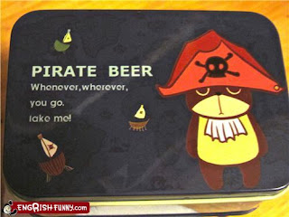pirate beer teddy bear