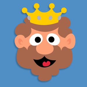 Как сделать маску короля