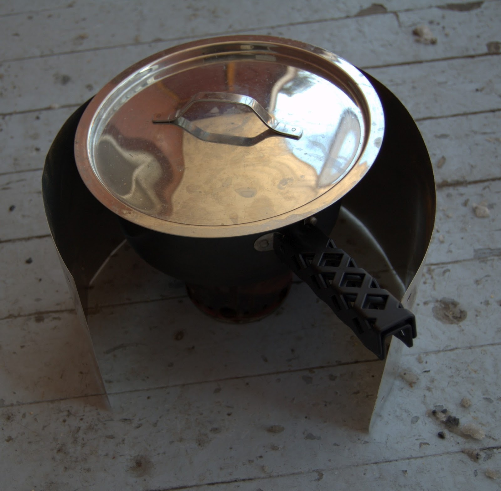 Ride or Pie?!: Testing a Penny Stove in the Cold