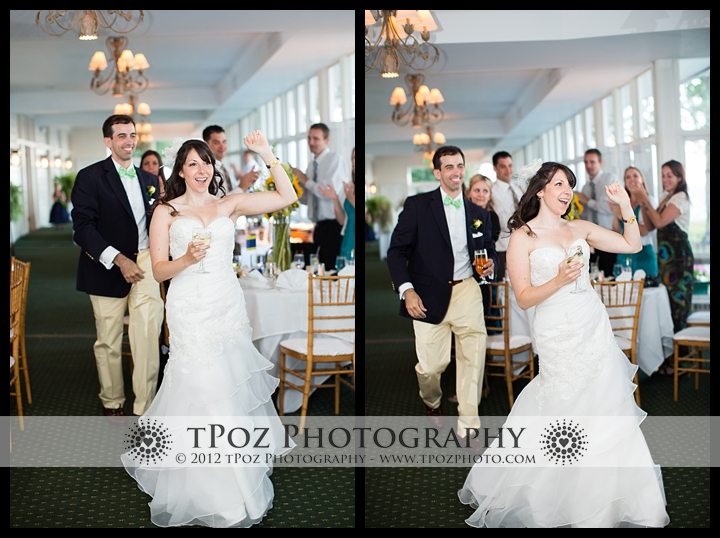 Bride Entrance Gibson Island Club Wedding