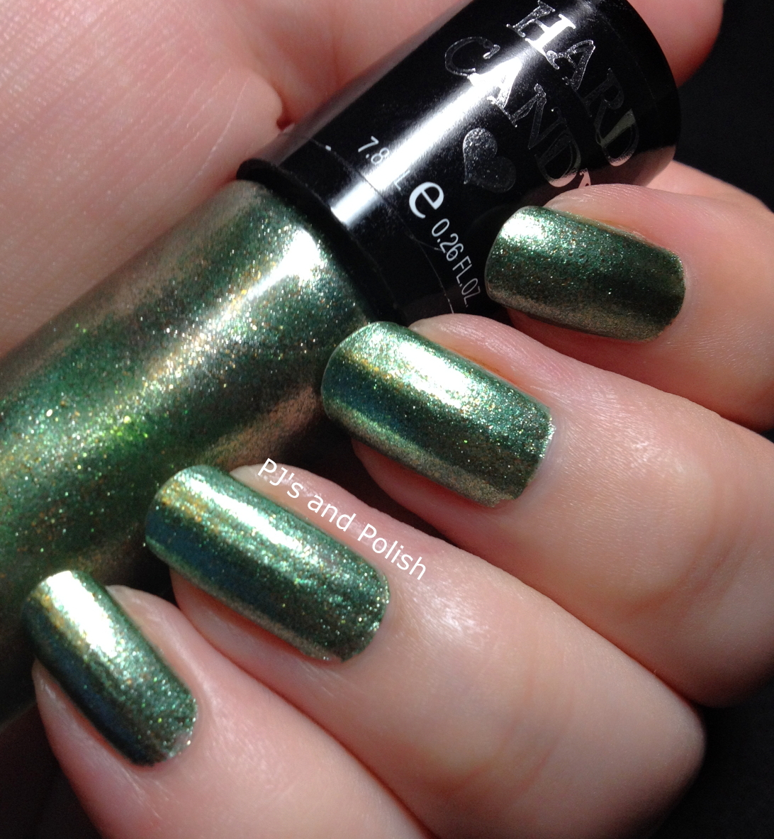 Swatch and Review Hard Candy Crush on Ivy Foil Metallic HK Girl