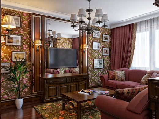 English Style In Interiorideas For Living Room