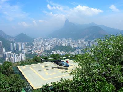 Helipuerto en Pan de Azúcar, Río, Brasil, La vuelta al mundo de Asun y Ricardo, round the world, mundoporlibre.com