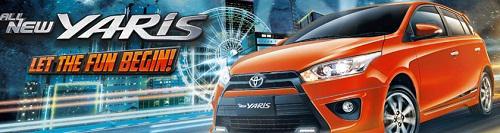Daftar Harga Mobil Toyota Seri All New Yaris Terbaru