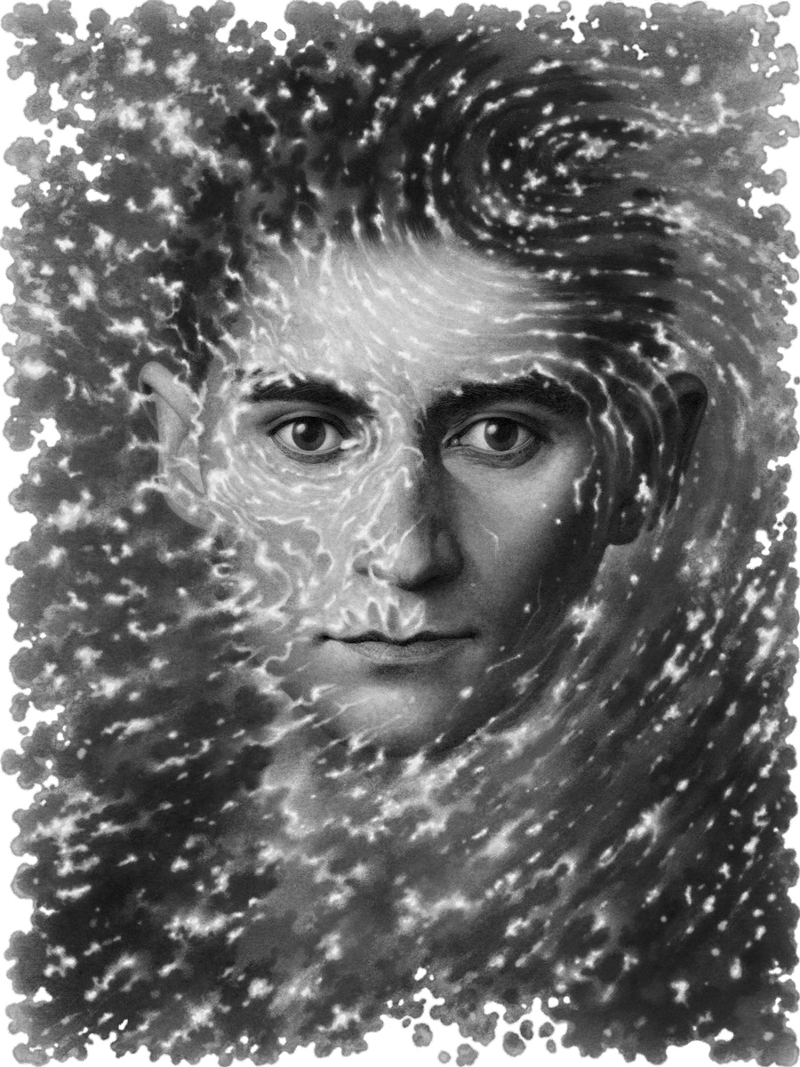 10-Franz-Kafka-TNR-Boris-Pelcer-Marriage-of-Traditional-and-Digital-Art-www-designstack-co