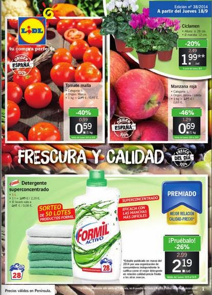 lidl catalogo de oferta del 18-09-14