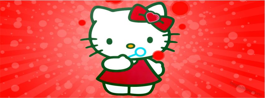 Foto Sampul Facebook Hello Kitty | Bangiz