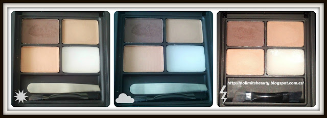 MUA PRO-BROW - Ultimate Eyebrow kit: tonos de las sombras