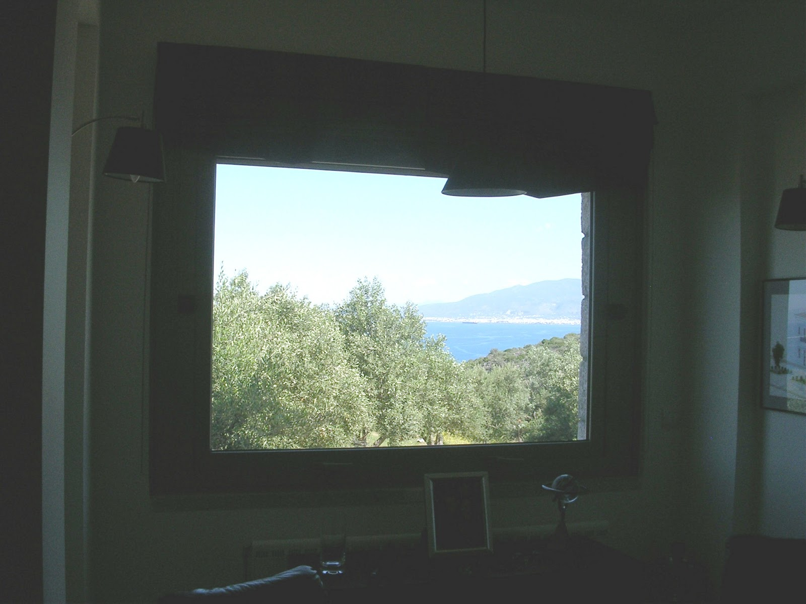 A Greek Window With A View Nr Kalamata A Greek