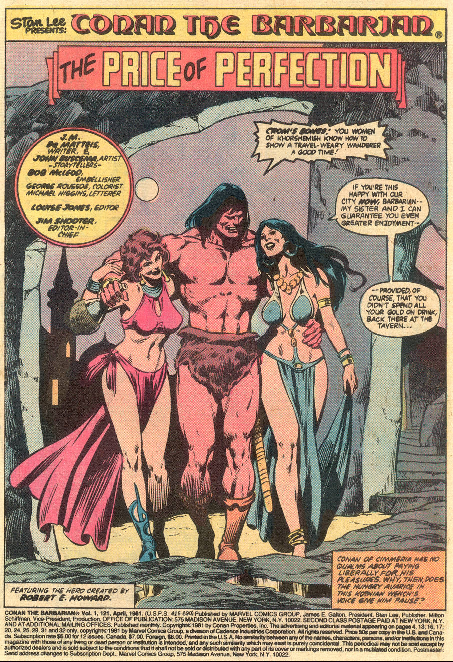 Conan the Barbarian (1970) Issue #121 #133 - English 2