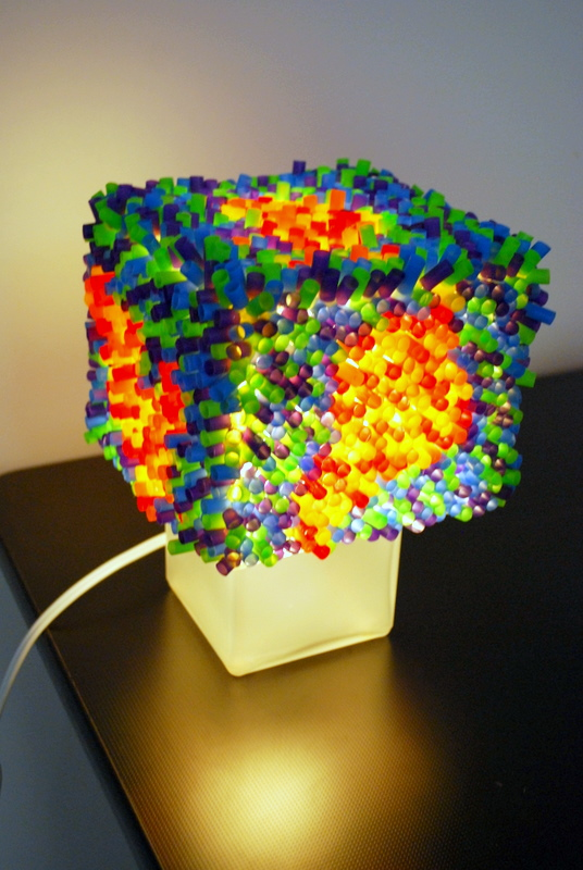 How to recycle lightings created from disposable straws - Things made out of straws ...