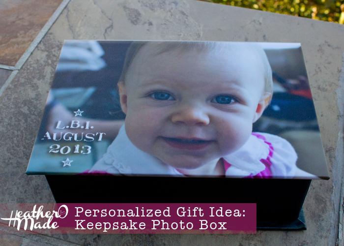 personalized gift idea: keepsake photobox. thank you gift. christmas gift. mothers day gift. gift idea