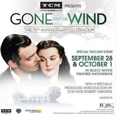 """75 años del estreno de """"Lo que el viento se llevó"""""""