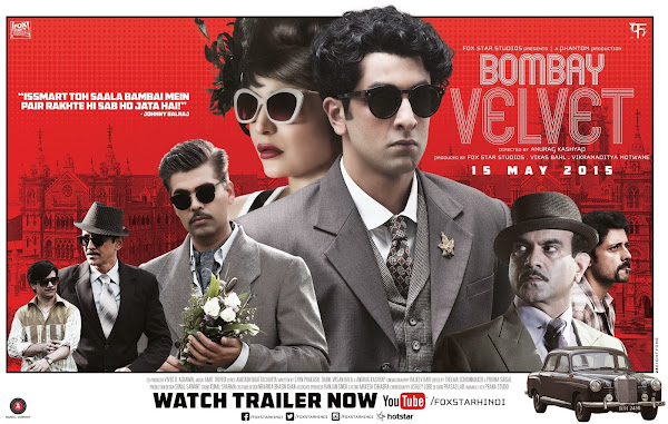 Bombay Velvet (2015) Movie Poster No. 5