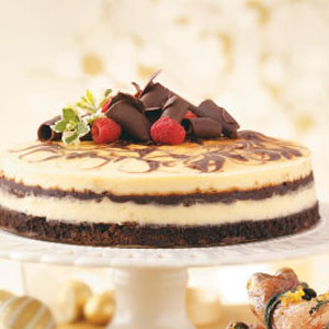 Brownie Swirl Cheesecake Recipe 2012