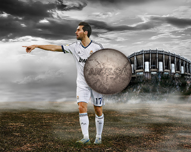 New Arbeloa wallpaper HD Real madrid 2013 - 2014