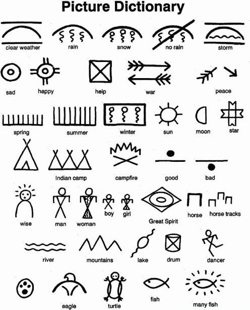 native american symbols eve warren a history of. Black Bedroom Furniture Sets. Home Design Ideas