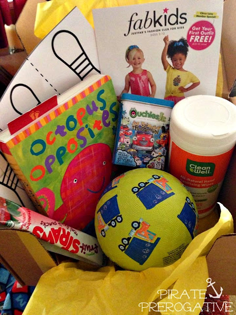 Citrus Lane August 2013 box Review from PiratePrerogative.com