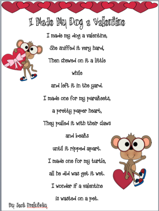 ms alleys 2nd grade class 31 and a valentines freebie a valentine poem