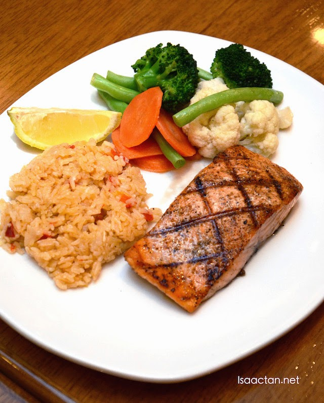 Grilled Salmon - RM39.95